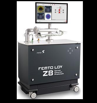 Laser femtoseconde z8 zeiss